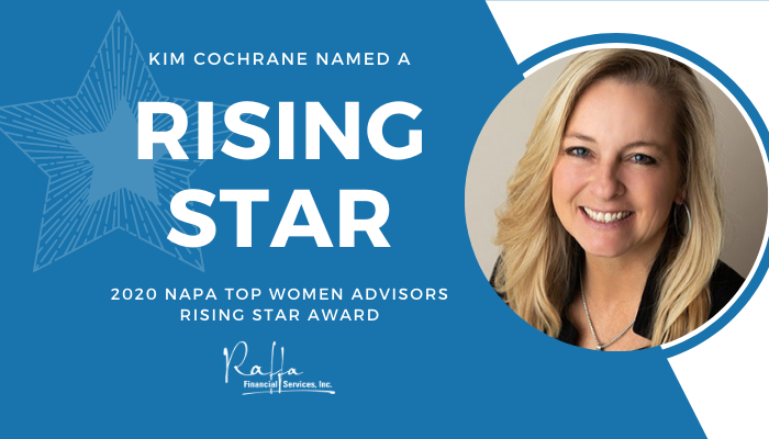 We are proud to announce that our very own Kim Cochrane, Director of Retirement Plan Services, has been named a Rising Star in the 2020 NAPA Awards!